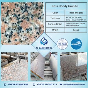 Rosa Hoody Granite | Egyptian Granite Slabs