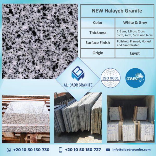 White Granite | Bianco Halyeb Granite